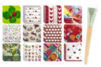 Serviettes en papier - Méga pack de 36 - Papiers à motifs - 10doigts.fr
