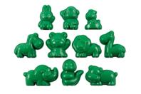 Moules animaux en plastique - Set de 10 - Moules - 10doigts.fr