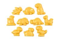 Moules dinosaure en plastique - 10 formes - Moules - 10doigts.fr