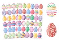 Gommettes œufs de Pâques aquarelle - Décorations et accessoires de Pâques - 10doigts.fr