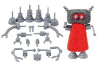 Set de 19 accessoires pour création de robots avec les pâtes Soft Clay ou Foam Clay - Outils de Modelage - 10doigts.fr