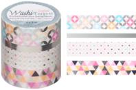 Rouleaux de masking tape - Argent métallisé - Masking tape (Washi tape) - 10doigts.fr
