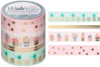 Masking tape - Or métallisé - Rubans adhésifs et Masking tape - 10doigts.fr