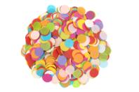 Confettis en papier de soie - 5000 pièces multicolores - Papier de soie - 10doigts.fr