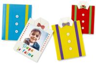 Carte chemise à fabriquer - Kits activités fête des pères - 10doigts.fr