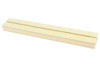 Socle en bois avec une fente - Marques-place - 10doigts.fr