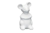 Souris en polystyrène 14 x 7 cm - Animaux - 10doigts.fr