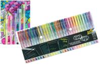 Stylos bille encre gel - 30 couleurs assorties - Stylos et feutres Fantaisies - 10doigts.fr