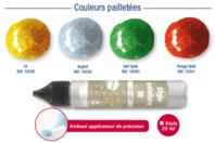 Stylos peinture 3D couleurs pailletées - Stylos peinture 3D - 10doigts.fr