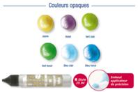 Set de 6 stylos peinture 3D - DESTOCKAGE - 10doigts.fr