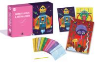Coffret foil art - Thème Robot  - Coffret Foil Art - 10doigts.fr