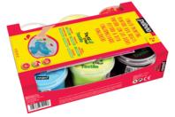 Peinture aux doigts pour tissu TACTIL COLOR - 6 couleurs basiques - Peinture textile - 10doigts.fr