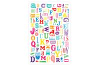 Transferts Alphabet  - Lot de  2 planches - Transferts, décalcomanies - 10doigts.fr