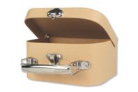 Valisette à bijoux en carton - Supports Bureau en carton - 10doigts.fr