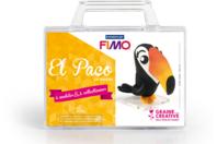 Kit à modeler Fimo - Paco le Toucan - Fimo Soft - 10doigts.fr