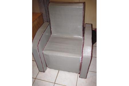 fauteuil en carton - Divers - 10doigts.fr