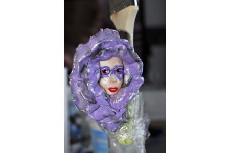 Masque en porcelaine froide - Modelage - 10doigts.fr