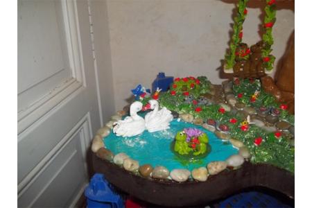 Les cygnes et les grenouilles - Modelage - 10doigts.fr
