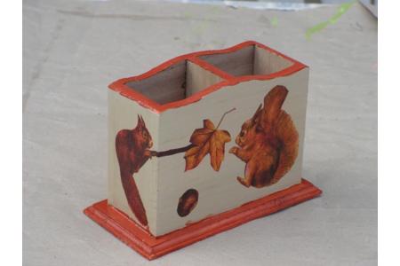 pot à crayons - Déco du bois - 10doigts.fr