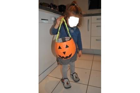 panier halloween - Créations d'enfant - 10doigts.fr
