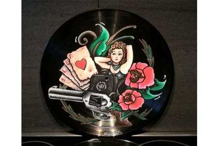 vinyle customisé  - Peinture - 10doigts.fr
