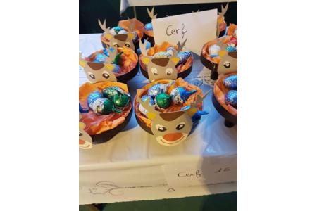 boîte à chocolats en forme de cerf - Créations d'enfant - 10doigts.fr