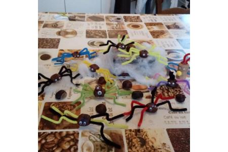 araignées pour Halloween - Divers - 10doigts.fr