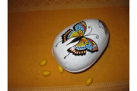 boite oeuf papillon - Pâques, Noël - 10doigts.fr