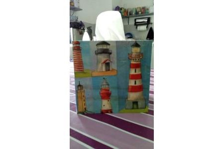 boîte à mouchoirs - Vernis collage papiers, serviettes - 10doigts.fr