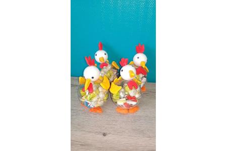 poules de pâques - Créations d'enfant - 10doigts.fr