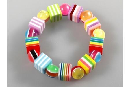 Bracelet flashy - Perles, bracelets, colliers - 10doigts.fr