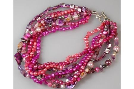 Collier des îles - Perles, bracelets, colliers - 10doigts.fr