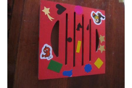 boite à musique de carnaval - Créations d'enfant - 10doigts.fr