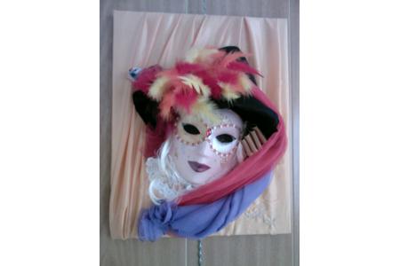 Masque Arlequine - Masques - 10doigts.fr