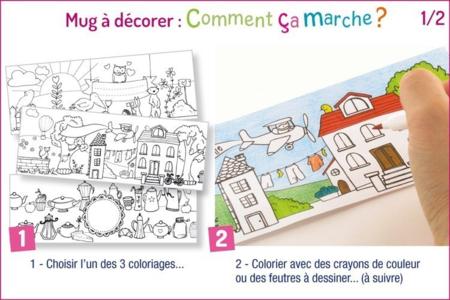 Mug à décorer - Divers – 10doigts.fr