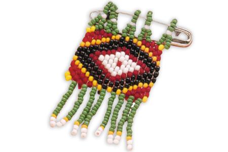 Métier à tisser les perles - Perles de rocaille – 10doigts.fr