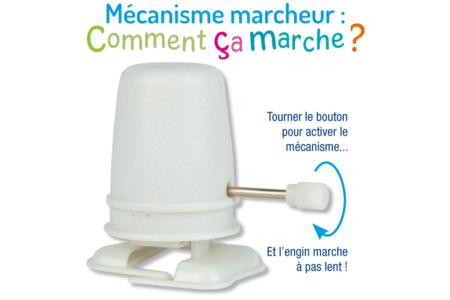 Mécanismes à friction pour pâtes SOFT et FOAM Clay : Marcheur ou Rouleur - Outils et Accessoires de Modelage – 10doigts.fr