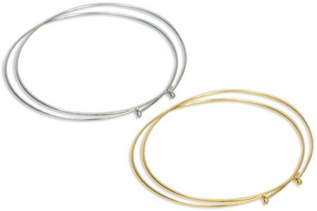 Collier tour de cou à bille, argenté ou doré - Colliers – 10doigts.fr