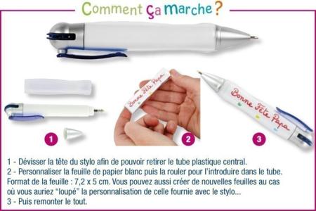 Stylo-bille à personnaliser - Activités enfantines – 10doigts.fr