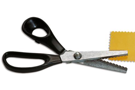 Ciseaux cranteurs pour tissus - Couture – 10doigts.fr