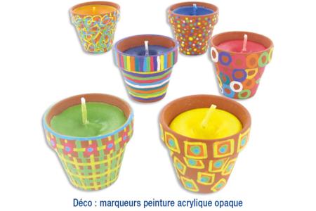 Pots en terre cuite - Supports en Céramique et Porcelaine – 10doigts.fr
