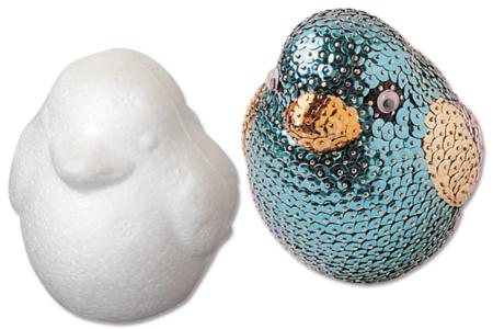 Oiseau en polystyrène 6 cm - Pâques – 10doigts.fr
