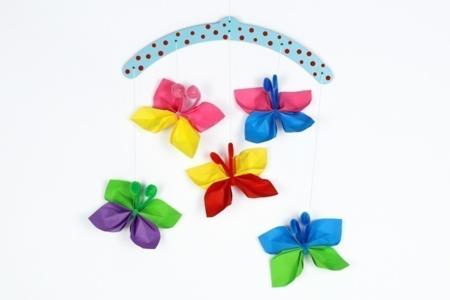 Papillons En Papier Activites Enfantines 10 Doigts