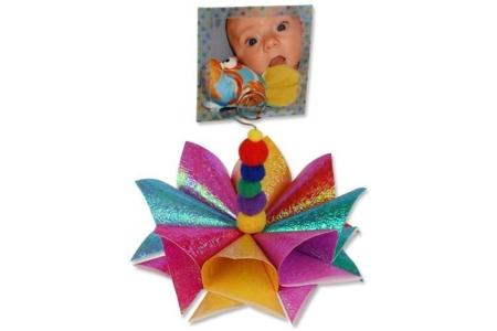 Fleur 3D porte photo - Activités enfantines – 10doigts.fr
