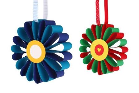Fleurs en papier - Activités enfantines – 10doigts.fr