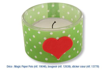 Bougeoirs rond en verre - Lot de 4 - Bougeoirs et photophores – 10doigts.fr