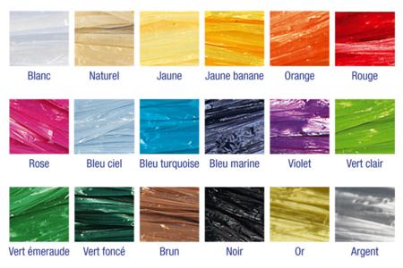 Raphia synthétique coloré - 30 mètres - Paille et Raphia – 10doigts.fr