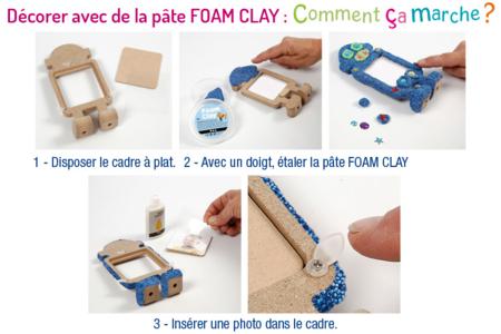 Robots cadre photo - Lot de 4 - Cadres photos – 10doigts.fr