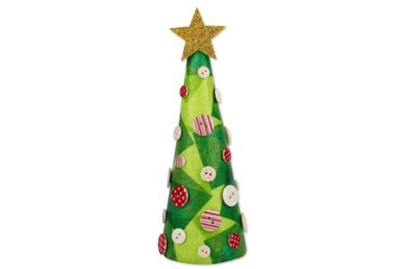 Sapin de Noël conique - Noël – 10doigts.fr