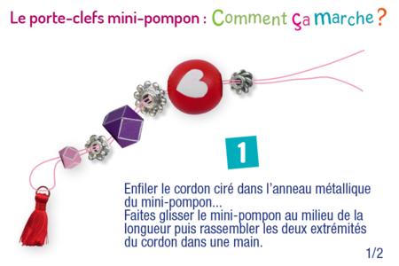 Perles assorties en bois naturel - Set de 18 - Porte-clefs, stylo-bille – 10doigts.fr